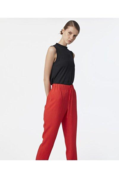 MISS IPEKYOL Kadın Kırmızı Bağcıklı Pantolon