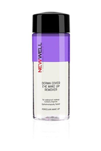 New Well Göz Makyaj Temizleyicisi - Derma Cover Eye Make Up Remover 160 ml 8680923323558