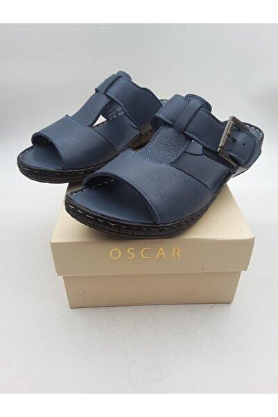 Oscar Kadın Kot Mavi Terlik