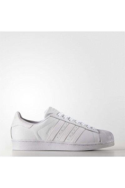 adidas Erkek Beyaz Superstar Foundatıon Spor Ayakkabı