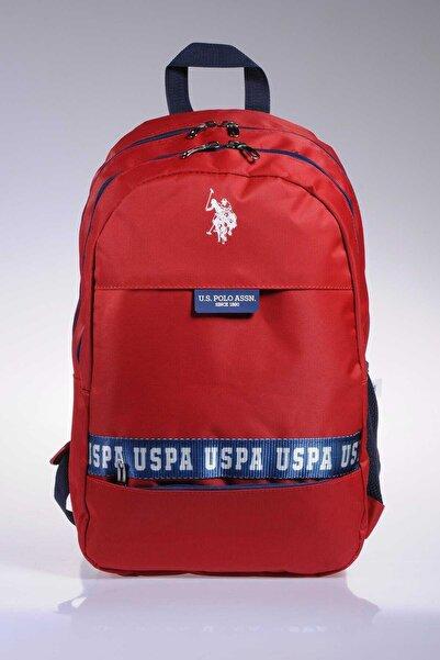 U.S. Polo Assn. Erkek Kırmızı Sırt Çantası
