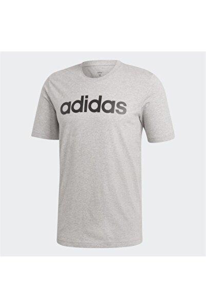 adidas Erkek Gri T-shirt