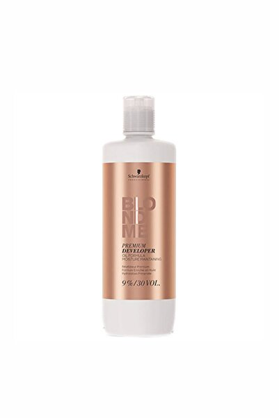 SCHWARZKOPF HAIR MASCARA Blond Me Premium Care Developer %9 30 Vol 1000 Ml 4045787242935