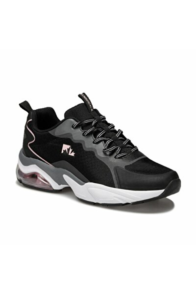 lumberjack Kadın Siyah Sneaker Ayakkabı