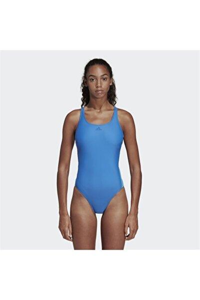 adidas Kadın Mavi Fit Mayo 1Pc 3S - DQ3328