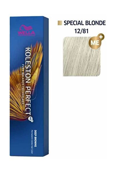 Wella Koleston Perfect Saç Boyası 12/81 Extra İnci Küllü Sarı 60 ml 8005610666716