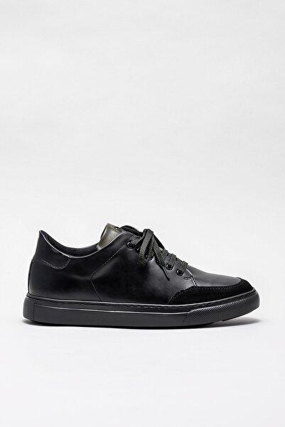 Elle Shoes Erkek Albet Sıyah Casual Ayakkabı 20KTA877-2