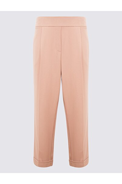 Marks & Spencer Kadın Pembe Tapered Leg Pantolon T59006518