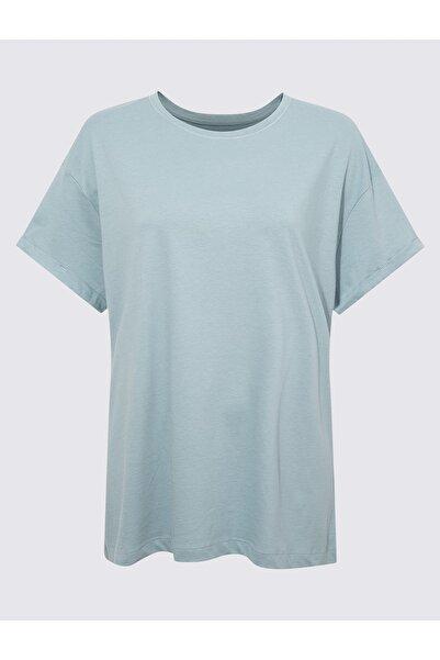 Marks & Spencer Kadın Lacivert Kısa Kollu Pijama Takımı T37004404X