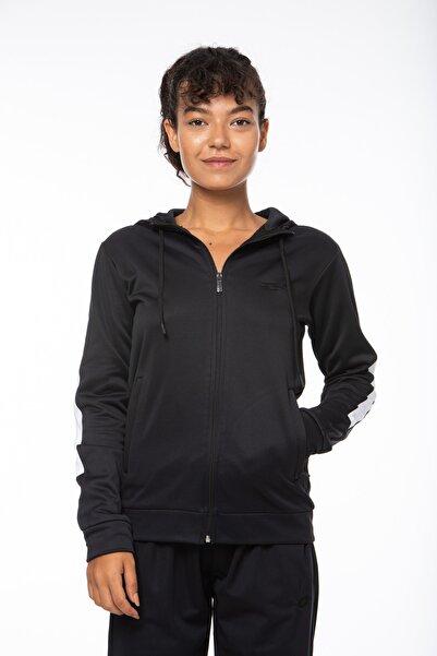 Lotto Sweatshirt ;kadın ;siyah-fleece Sweat Fz Hd Pl W-r9642