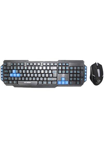 Hytech Hyk-46 Gamy Siyah-mavi Usb Kablolu Q Oyuncu Klavye Mouse Set