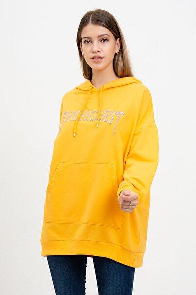 Mossta The Highest Baskılı Sweatshirt