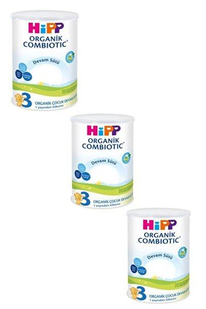 Hipp 3 Organik Combiotic Devam Sütü 350 Gr 3 Lü