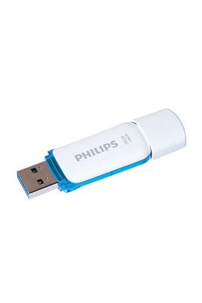 Philips 16gb Snow Edition Mavi? Usb 2.0 Usb Bellek