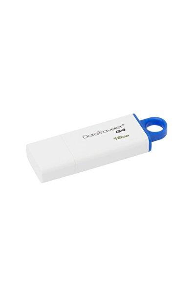 Kingston Dtıg4 16 Gb Usb 3.0 Beyaz-mavi Plastik Kasa Flash Belle