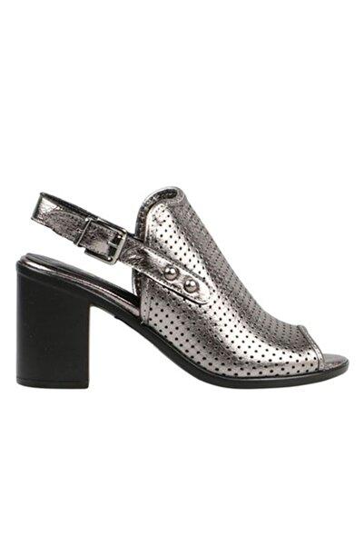 Hammer Jack Kadın   Platın  Klasik Topuklu Ayakkabı 309 52-Z-5075