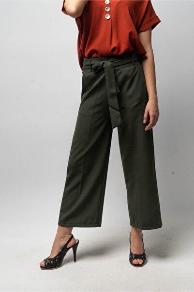 CNS Kadın Haki Kuşaklı Pantolon