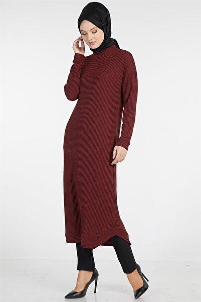 Tuğba Kadın Bordo Elbise