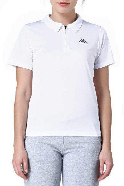 Kappa Polo Slim Fit T-shirt Beyaz