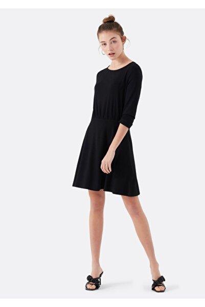 Mavi Siyah Mini Elbise 168474-900