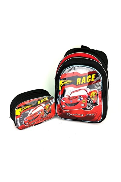 Hakan Çanta Cars Şimşek Mac Queen Okul Seti-çanta-beslenme