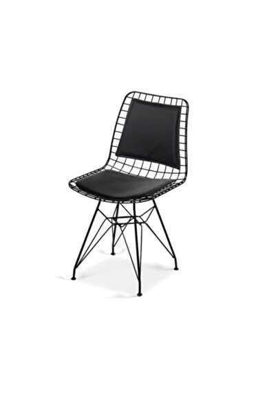 Touch Home Sırt Minderli Loft Tel Sandalye