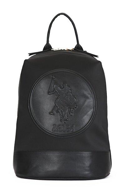 U.S. Polo Assn. Siyah-Siyah Kadın Sırt Çantası Us8135