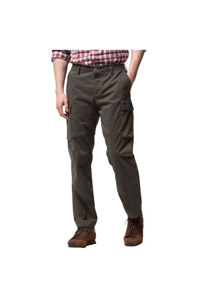 Jack Wolfskin Erkek Haki Arctıc Road Cargo Pantolon