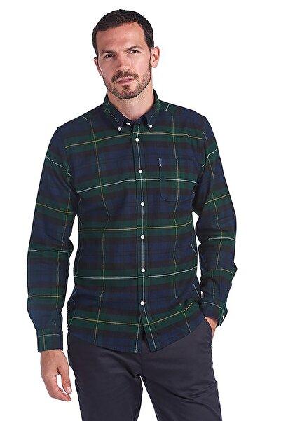 Barbour Erkek Yeşil Highland Check 18 Tailored Gömlek