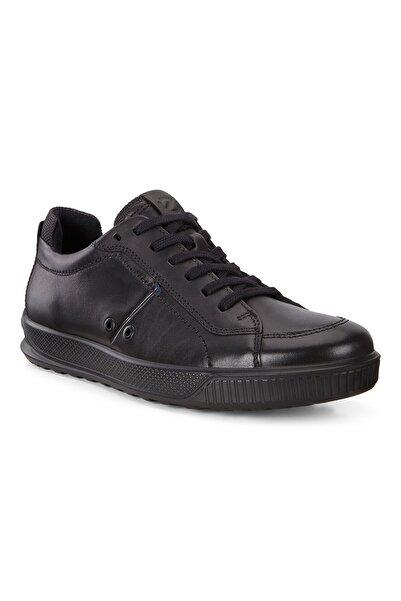 Ecco Erkek siyah Bağcıklı Spor Ayakkabı