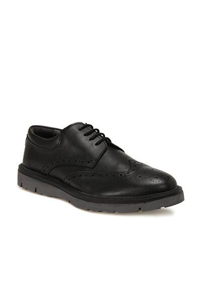 JJ-STILLER 100-4 Siyah Erkek Klasik Ayakkabı 100571911
