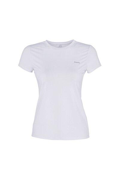 Kinetix Basıc Pes C Neck T-shırt Beyaz Kadın T-shirt