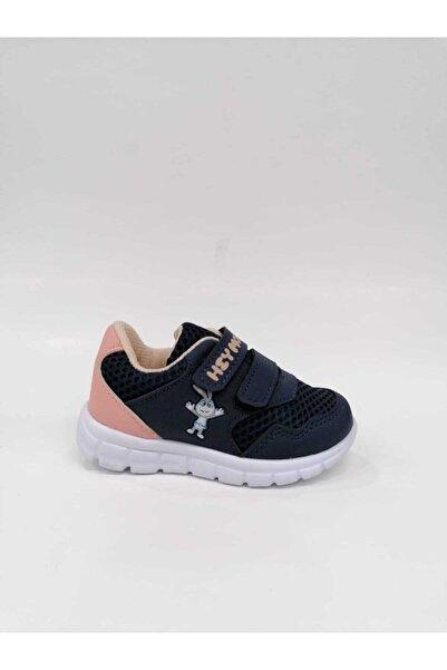 Momo Kız Çocuk Mavi Pembe Günlük Spor Ayakkabısı