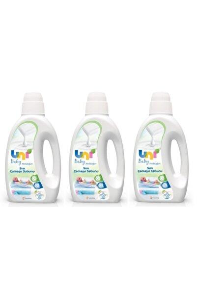 Uni Baby Yenidoğan Sıvı Çamaşır Sabunu 1500 ml 3'lü Paket