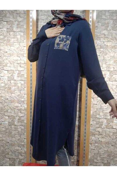 Femina Kadın Lacivert Tunik