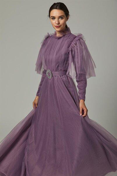 Loreen Kadın Lila Elbise 22226-49
