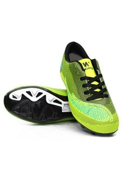 Walked 429 Erkek Sarı  Halı Saha Futbol Spor Ayakkabı