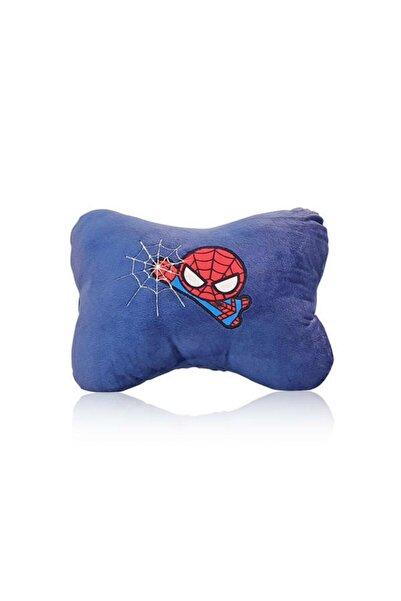 Miniso Lacivert Marvel Spider Man Yastık