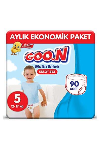 Goo.n Goon Bebek Bezi Mutlu Bebek Külot Bezi 5 No 90 Adet