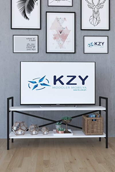 KZY ARTEMİS TV SEHPASI - BEYAZ