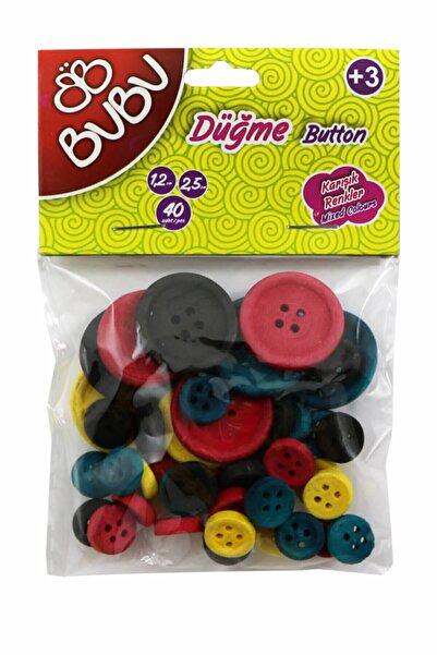 Bubu Düğme Renkli 40`lı