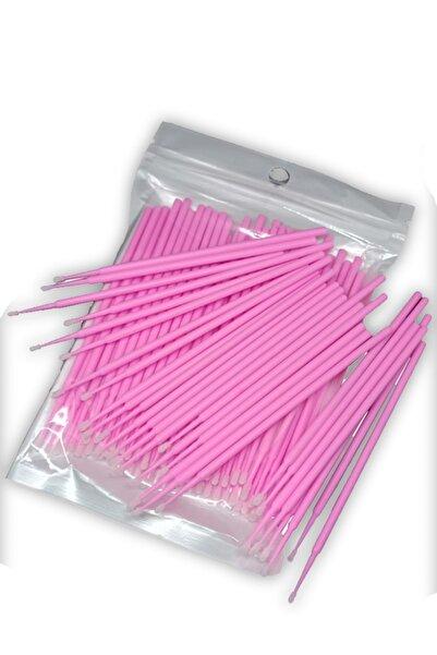 ARMONİKONYA 100 Adet Ipek Kirpik Microblading Kalıcı Makyaj Için Microbrush Fırçası 100 Adet