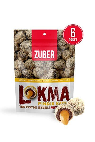 Züber Fındık Kaplı Fıstık Ezmeli Meyve Topu 96g X 6 Paket