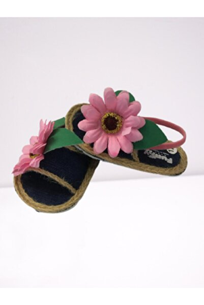 Funny Baby Kız Bebek Lacivert Sandalet