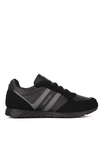 Slazenger Italıan Koşu & Yürüyüş Kadın Ayakkabı Siyah / Siyah