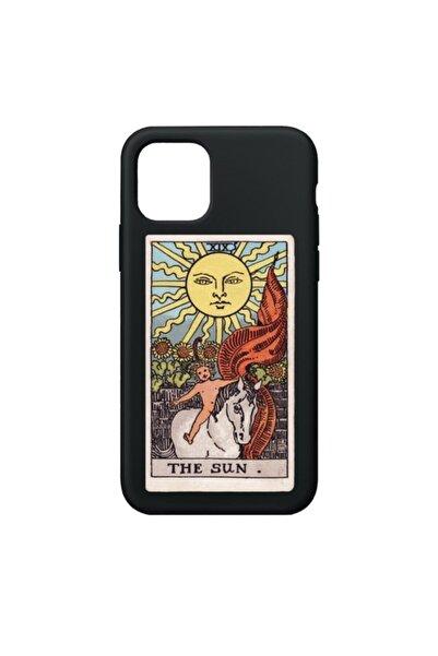 SUMTHINCS The Sun Premium Siyah Iphone 11 Telefon Kılıfı