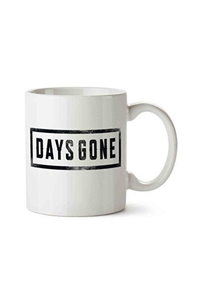 MET DESİGN Days Gone 3 Porselen Kupa Bardak