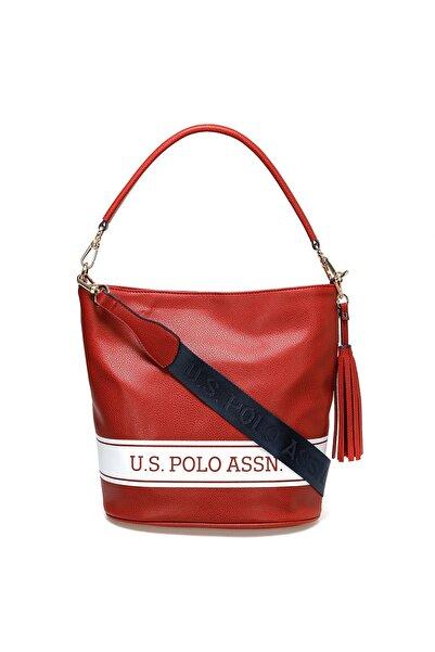 U.S. Polo Assn. Kırmızı Kadın Omuz Çantası US20268