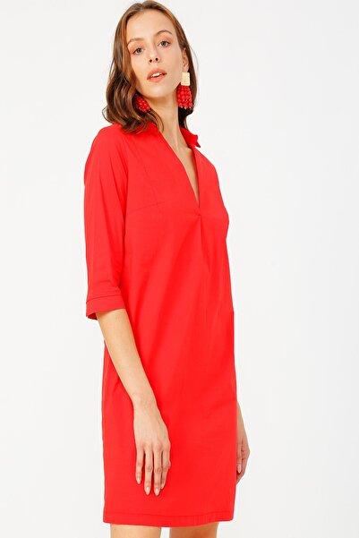 Fabrika Kadın Mercan Elbise 504764432