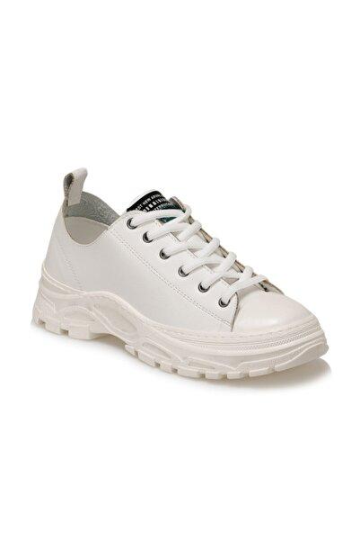 Butigo Martin Beyaz Kadın Havuz Taban Sneaker